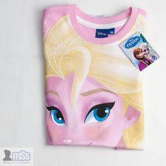 Disney Frozen Elsa Girl T-shirt sz 5 Yr New With Tags Pink