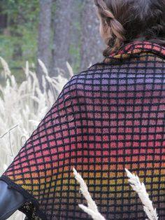Shawl - hand knit shawl - knit shawl - handmade shawl - wool shawl - knit triangular shawl - unique knitted shawl - knit big shawl Mosaic *************************************************************************************** Hand knitted triangular shawl for spring, autumn and