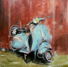 Buy Vespa special- acrylic on c., Acrylic painting by Henryfinearts on Artfinder. Vespa Special, Map Artwork, Expressive Art, Acrylic Colors, Simple Art, Acrylic Painting Canvas, Lovers Art, Buy Art, Colours