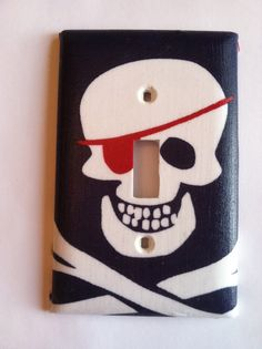 Pirate light switch cover