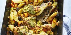 Boodschappen - Marokkaanse kip uit de oven