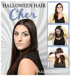 Halloween hair styles including Tomb Raider, my fave.