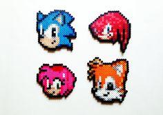 Sonic The Hedgehog Perler Sprites  Choose 1 by ShowMeYourBits, $3.00