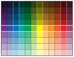 LilaLoa: Icing Color Theory and a Color Chart