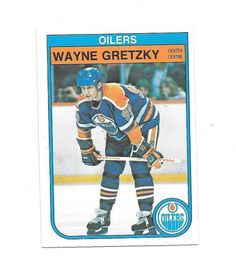 1982 - 1983 O-PEE-CHEE Wayne Gretzky Edmonton Oilers  106 Hockey Card  6b2f155af
