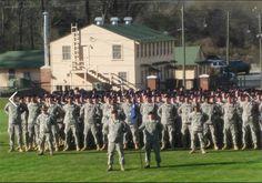 Fort Benning , Ga. Army Infantry graduation.