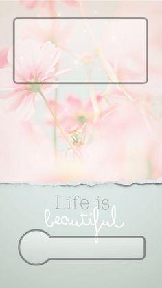 ↑↑TAP AND GET THE FREE APP! Lockscreens Flowers Creative Art Design Beautiful HD iPhone 5 Lock Screen