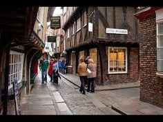 The medieval street of The Shambles, York (England)