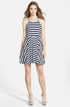 MINKPINK 'Just Waiting' Halter Fit & Flare Dress available at #Nordstrom