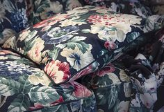 Go bold with clashing textile patterns for the new season – IKEA Ektorp Sofa Cover, Sofa Covers, Textile Patterns, Textile Prints, Motif Floral, Floral Prints, Jewel Colors, Nordic Home, Lisa