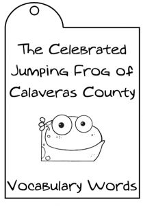 Your teens will be itchin' to try their hand at the lapbooking and writing assignments in this month's Lapbooking unit by Kimm Bellotto. Specially designed for older students, Kimm shares the colorful story of The Celebrated Jumping Frog of Calaveras County by Mark Twain. Examine Twain's use of comic exaggeration, dialect, and colloquialisms while learning key writing techniques to improve your own writing.