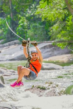 Explore the beauty of Puerto Rico's El Yunque rainforest from up high and down low during this combination zipline and hiking adventure. Puerto Rico, El Yunque Rainforest, Puerto Vallarta, Canopy, Things To Do, Hiking, Tours, Explore, Book