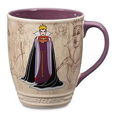 Your WDW Store - Disney Coffee Cup Mug - Disney Classics - Evil Queen Disney Tassen, Disney Evil Queen, Disney Coffee Mugs, Disney Cups, Disney Kitchen, Disney Home Decor, Disney Merchandise, Cute Disney, Disney Disney
