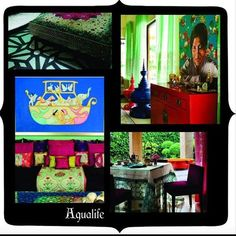 #TBT#Throw back #Thursday #Eclectic living #Aqua #Fun #Colors #Energy #Dream #Home #Casa # Paradox