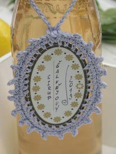 Moji šťastní andělé : 750ml šalvějového sirupu Crochet Earrings, Food And Drink, Syrup