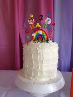 "Dora rainbow cake made my ""me"""