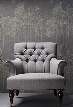 Gray upholstery. Liking it!