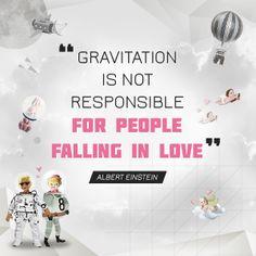 Love quote from Albert Einstein. #PasanganSehati