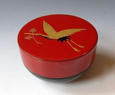 Japanese Lacquer Tea Box