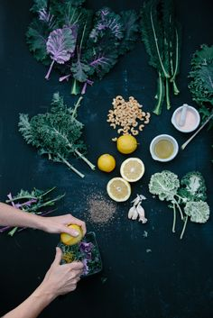 Find new ways to make kale exciting with lemons and cashews. @lenscrafters  #LCEyeHealthyEats