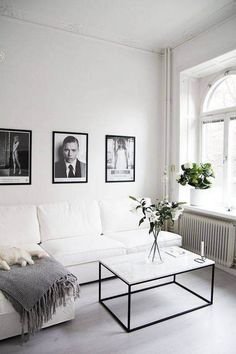 Unbelievable Tips Can Change Your Life: Minimalist Living Room With Kids Lamps minimalist home living room frames.Minimalist Bedroom Dresser Home contemporary minimalist bedroom small spaces.Minimalist Living Room Decor With Kids. Home Living, Apartment Living, Living Spaces, Apartment Design, Small Living, Modern Living, White Apartment, Apartment Furniture, Apartment Therapy