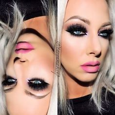 A lot of shadow with a lot of lashes please. Love it!!