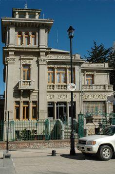Casa Montes, actual Municipalidad de Punta Arenas, Chile