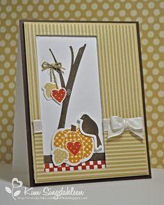 Autumn Scene with WPlus9 by atsamom, via Flickr.  All stamps and dies by WPlus9 Stamps.