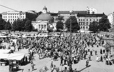 Läntinen keskusta - Vanhoja kuvia Turusta - Suomikuva.fi Helsinki, Paris Skyline, Travel, Voyage, Viajes, Traveling, Trips, Tourism