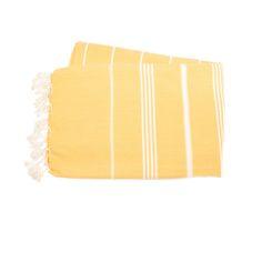 Klassisk design som håller säsong efter säsong. Hammama i 100% bomull, hög uppsugningsförmåga.  Färg: Sunny Yellow  Besök oss på www.tickingstripe.se