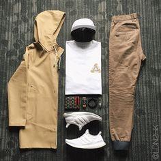 LDN2HK on Instagram \u201cRaining Day. ☔   outfitgrid outfitoftheday ootd wdywt streetwear // stutterheim stutterheimraincoat // palace