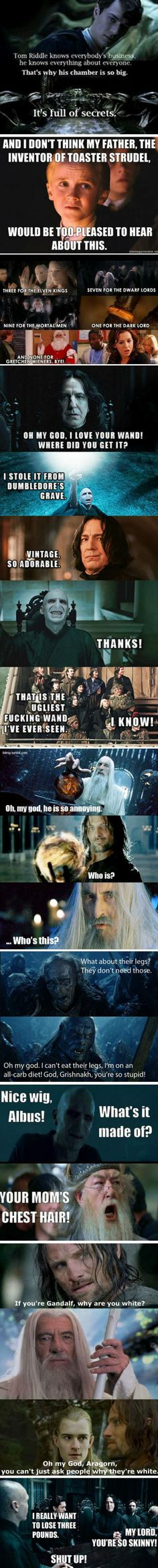 Boo you whorecrux!<< This! And the last one made me laugh so hard! Harry Potter/Mean Girls crossover
