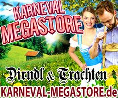 New on my website with online shopping worldwide www.shoppingintheworld.com Country Germany - Store Karneval-Megastore
