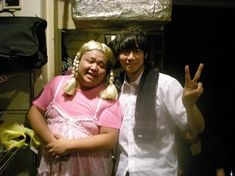 [Champagne]川上洋平2008/7/28 楽屋裏。お笑い芸人「ドラムカン」のハムタンさんと@ Champagne, Album, Card Book