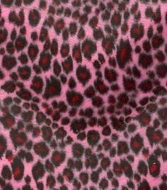Soft Fur Cheetah Pink