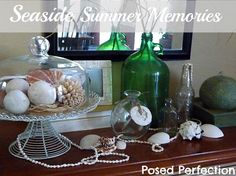 Posed Perfection: Seaside Summer Memories Vignette