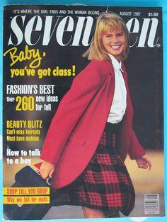 Seventeen Magazine August 1987