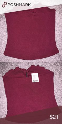 d97c0b21f7b Urban Outfitters Tube Top Size M Wine Burgundy ribbed Tube Top Urban  Outfitters Tops Crop