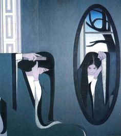 The Mirror by Will Barnet