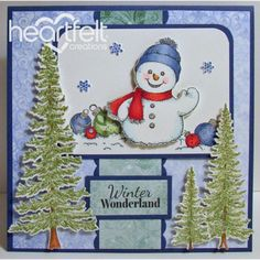 Heartfelt Creations - Frosty Winter Wonderland Project