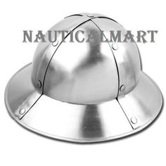 Medieval Kettle Hat Helmet By Nauticalmart: Amazon.co.uk: Sports & Outdoors