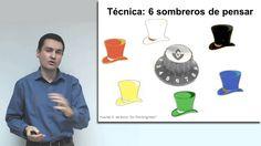 Técnicas de Creatividad: Módulo 7 - Seis sombreros de pensar. Youtube, University, Sombreros, Thinking About You, Learning, Critical Thinking, Youtubers, Youtube Movies