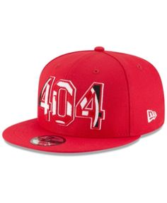 New Era Atlanta Hawks Area Code 9FIFTY Snapback Cap Men - Sports Fan Shop  By Lids - Macy s 750010303761