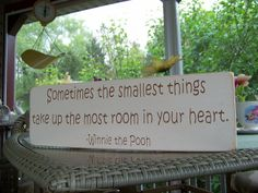 Classic Winnie the Pooh Nursery Decor Sometimes by primsnposies