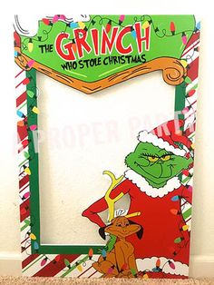 The Grinch Who Stole Christmas Grinch Party by aPROPerParty grinchchristmasdecorations School Christmas Party, Grinch Christmas Party, Grinch Who Stole Christmas, Grinch Party, Office Christmas, Xmas Party, Holiday Fun, Christmas Holidays, Christmas Carol