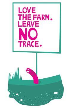 Glastonbury Festivals - Information - Love the farm, leave no trace