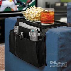 Charming OUTAD 6 Pockets Sofa Handrail Couch Armrest Arm Rest Organizer Remote  Control Holder Bag On TV Sofa Corrimao Braco Resto