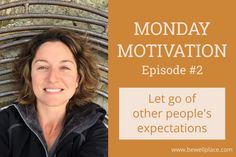 In this week's Monday Motivation, we discuss letting go of other people's expectations in order to help us get outside our comfort zones. Monday Motivation, Other People, Letting Go, Campaign, Let It Be, Content, Change, Medium, Giving Up
