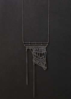 SALE  - rio negro crochet necklace. $200.00, via Etsy. (I LOVE this but damn! $200 bucks! SMDH)