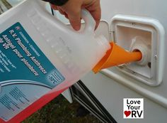 Quick Fifth Wheel Winterizing with RV Antifreeze Rv Camping Tips, Travel Trailer Camping, Rv Travel, Camping Ideas, Camper Life, Rv Campers, Rv Life, 5th Wheel Living, Rv Water Heater